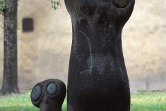 OWLS, 1959, sandstone, Cracow, Planty Park