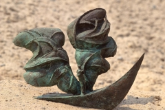 A LONELY VOYAGE, 1991, bronze