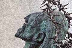 FROM LIFE TO LIFE, 1977, bronze, Nowa Huta, Ark of the Lord Church