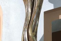 SCULPTURE OF SAINT ZORARD, 1978, polychromed wood, Nowy Sącz Zawada
