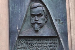 COMMEMORATIVE PLAQUE TO ADAM BOCHENEK, 1985, bronze, Cracow